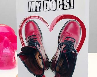 You Rock My Docs! Card