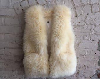 Monarch Trading Co amazing sheepskin shearling vest