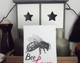 Bee my Lover (drawing replica)