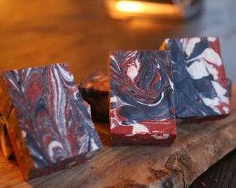 Mentha Piperita (Peppermint) Oil Charcoal Bar