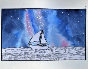 Sailing through the stars