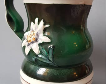 BIHL Czechoslovakia pitcher ceramics art deco