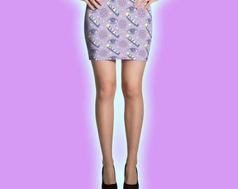 Cute Satan Mini Skirt