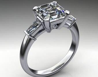 laurel ring – 2.3 carat ZAYA moissanite engagement ring