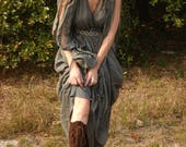 Custom order for  phoenixvic Earthgarden handmade Boots knee high Dark brown Suede w/ rubber soles