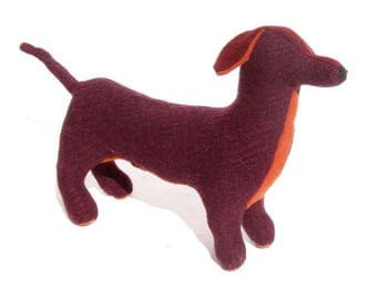A Wool and Cashmere Dachshund