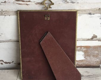 Vintage Brass Picture Frames - 8 x 10 with Finial