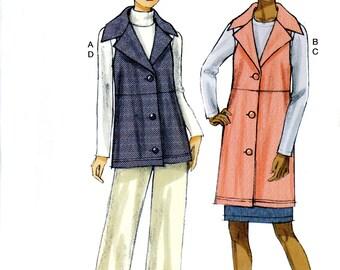 Vogue V9065 Easy Vest Skirt Pants Size 8 10 12 14 16 Uncut Sewing Pattern 2014