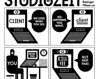 Studiozeit Comics No. 1-16 Micro Zine
