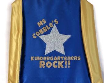 Adult Cape - Superhero Cape - Personalized Teacher Cape - Back to School - Super Teacher Capes - Teacher Superhero Cape - Super Teacher Cape