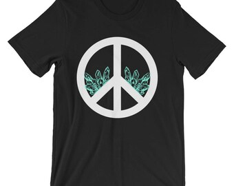 Peace Sign Shirt Mineral Shirt Peace Mineral Shirt Peace Sign T Shirt Peace Sign TShirt Peace Sign T-Shirt Peace Sign Tee Shirt Peace