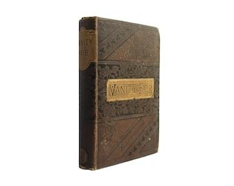 Vanity Fair - decorative antiquarian edition of Thackeray's classic novel - Free US Shipping