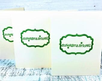 Congratulations Card, new baby card, Gift Card, Graduation Card, Promotion - New Job Card, Wedding Card, Engagement Card, Celebration Card