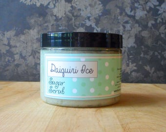 Daiquiri Ice Sugar Scrub - 8 oz - Limited Edition It's Still Summer Scent