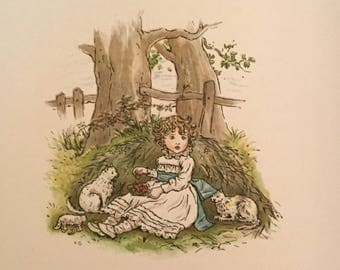 The Royal Progress of King Pepito - Kate Greenaway illustrations - 1889 - Beatrice Creswell