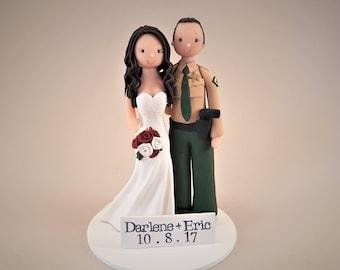 Unique Cake Toppers - Custom Handmade Wedding Cake Topper