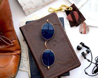 Vintage Sunglasses  - Retro Sunglasses , Blue Sunglasses , Mens Sunglasses , Ravenclaw , Gold Sunglasses , Travel Gift , Travel ,