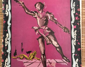 Beautiful Ballet Russes de Monte Carlo:  1938-9 Season Magazine, R