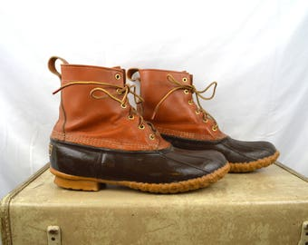 Vintage LL Bean Boots - Leather and Rubber