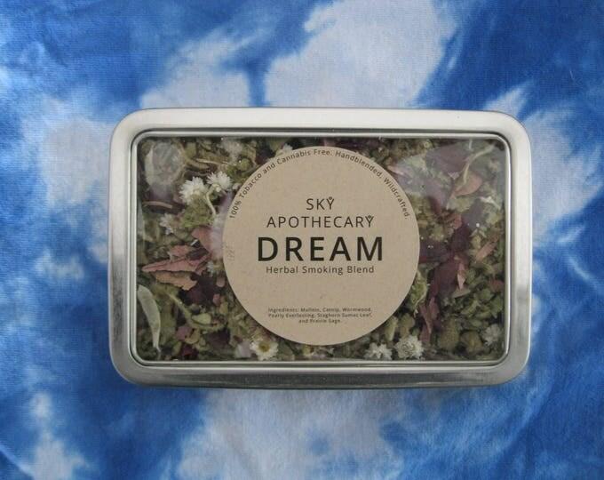 Herbal smoking blend DREAM wildcrafted handblended herbs