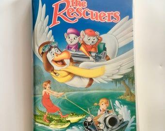 The Rescuers VHS Black Diamond Edition