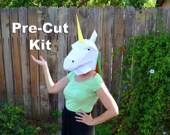 Build Your Own Unicorn Mask! | Pretend Play | DIY Mask | Paper Mask | Horse Mask | Animal Mask | Printable Mask