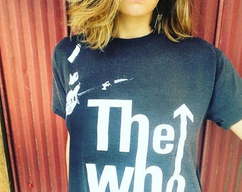 Vintage The Who tee- 1989 The Kids are Alright tour