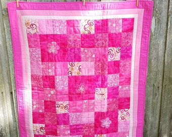 Shades of Pink Quilt