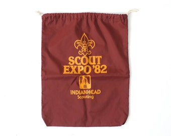 Boy Scout Expo 1982 Drawstring Bag