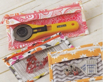 """QUILTING FUN (Sewing Bags): """"Bridget's Bagettes"""" - Design by Atkinson Designs"""