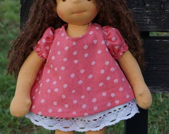 "Waldorf Doll Athena, 15"" OOAK doll"