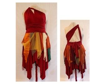 Pixie Point Dress, Fairy Bridesmaid Dress, Fairy Costume, Fantasy Wedding Dress, Fall bridesmaid dress, Autumn bridesmaid dress