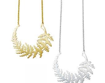 Fern Leaf Necklace