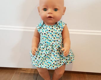 Baby Born Doll Clothes - Floral Dress