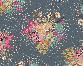 Powder Bloom  IFL-56308 - INDIE FOLK by Pat Bravo  - Art Gallery Fabrics - By the Yard