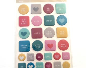 Puffy Stickers by Hello Forever (Studio Calico)