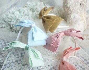Ribbon Bow Knot Hair Band with for BJD SD and MSD/YoSD Dolls 5 Colors Available (Type 14)