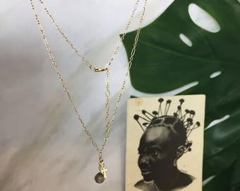 Gold filled jewelry, African jewelry, Gemstone jewelry, Boho tribal jewelry, Gold filled necklace, Gemstone necklace, Charm jewelry
