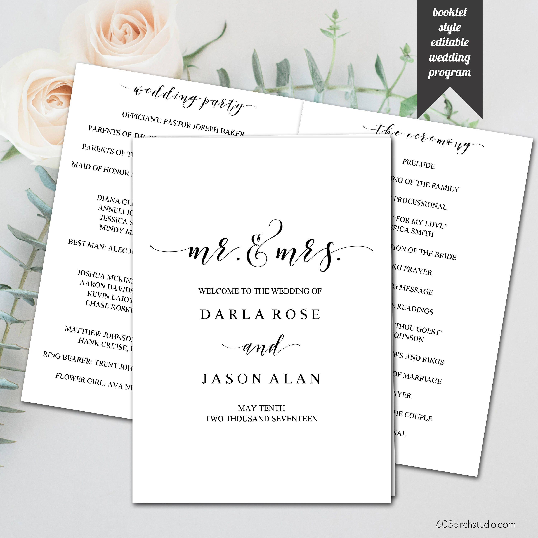 wedding program design template akba greenw co