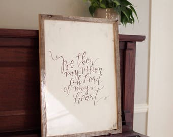"Rustic ""Be Thou My Vision"""