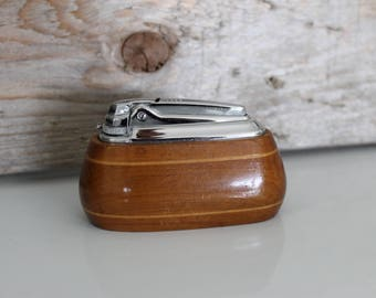 Wood Ronson Lighter Claridge VaraFlame Made In England Trademark
