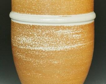Salt Fired Porcelain Tumbler