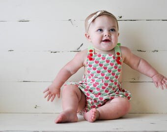 Strawberry Baby, Summer Bubble, Pink, Green, Berry, Strawberry Patch | 3-6m-4T | Free Shipping