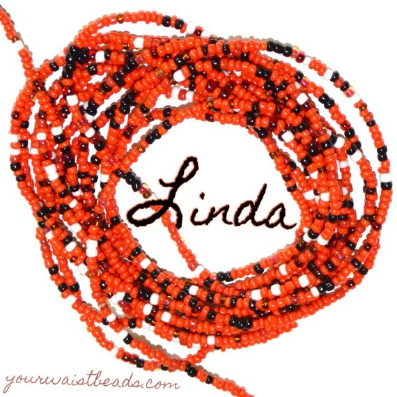 Waist Beads Custom fit ~Linda ~ YourWaistBeads.com