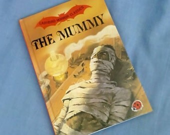 The Mummy - Vintage Ladybird Horror Classics Book Series 841 - Glossy Covers - 1st Edition 1985 Hardback