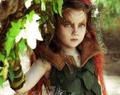 Set of 4 Woodland Moss Hair Clips- Woodland Elf Hair Clips- Fairy Costume Hair Clips- Woodland Bridal Hair Clip- Elf Costume- LARP- Ren Fest