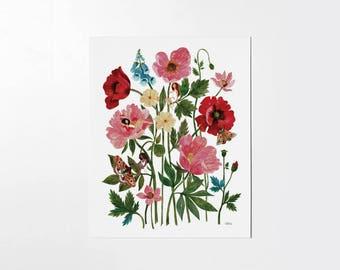 Plant Ladies - 8x10 art print