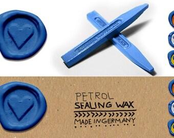 Sealing wax Petrol, Petrol Sealing wax shellac, Sealing wax for wedding, Sealing wax shiny, Shellack Sealing wax, Petrol Wedding Seal