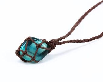 Green Fluorite Necklace, Fluorite Pendant, Chakra Necklace, Healing Crystal Necklace, Stone Pendant Necklace