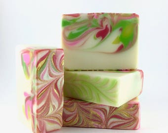 renewal ~ dogwood blossoms and ginger - Handcrafted Vegan Soap, Baby Shower Soap, Cold Process Soap, Evie Soap, shea butter soap